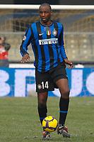 "Patrick VIEIRA Inter<br /> Verona 6/1/2010 Stadio ""Bentegodi""<br /> Chievo Verona - Inter 0-1<br /> Campionato Italiano Serie A 2009/2010<br /> Foto Andrea Staccioli Insidefoto"