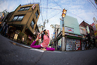 Emi Terada at Asakusa, Tokyo - Japan