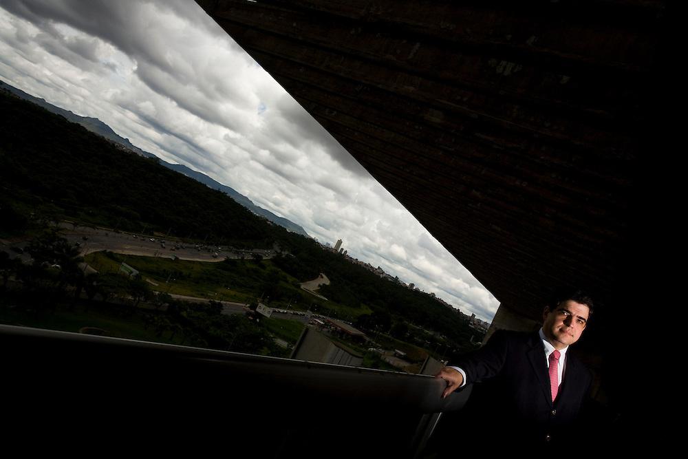 Belo Horizonte_MG, Brasil...Marco Antonio Castello Branco, presidente da Usiminas...Marco Antonio Castello Branco,   The Usiminas president...Foto: LEO DRUMOND /  NITRO.