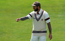 Somerset's Peter Trego Photo mandatory by-line: Harry Trump/JMP - Mobile: 07966 386802 - 26/05/15 - SPORT - CRICKET - LVCC County Championship - Division 1 - Day 3 - Somerset v Yorkshire - The County Ground, Taunton, England.
