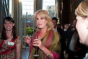 JOANNA LUMLEY, The launch party for Elephant Parade hosted at the house of  Jan Mol. Covent Garden. London. 23 June 2009.