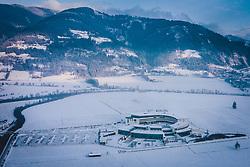 THEMENBILD - die Tauern SPA in der mit Schnee bedeckten Landschaft, aufgenommen am 03. Dezemeber 2020 in Kaprun, Österreich // the Tauern SPA in the snow-covered landscape, Kaprun, Austria on 2020/12/03. EXPA Pictures © 2020, PhotoCredit: EXPA/ JFK
