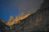 Spain-Monterrat monastery, the sacred mountain of Catalunya
