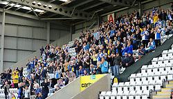 Bristol Rovers fans - Mandatory byline: Neil Brookman/JMP - 07966 386802 - 03/10/2015 - FOOTBALL - Globe Arena - Morecambe, England - Morecambe FC v Bristol Rovers - Sky Bet League Two