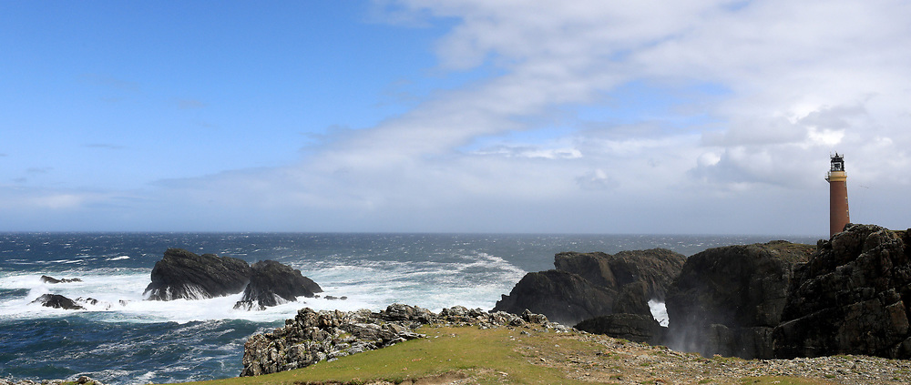 The Butt of Lewis is the most northerly point of Lewis in the Outer Hebrides. The headland, which lies in the North Atlantic is frequently battered by heavy swells and storms and is marked by the Butt of Lewis Lighthouse....... (c) Stephen Lawson   Edinburgh Elite media