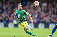 Robbie Brady of Norwich City in action. Barclays Premier League match, Crystal Palace v Norwich city at Selhurst Park in London on Saturday 9th April 2016. pic by John Patrick Fletcher, Andrew Orchard sports photography.