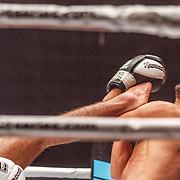 NLD/Amsterdam/20151204 - Freefightgala Glory26, Perviz Abdullayev tegen Aziz Kallah