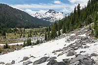 Lostine River Trail, Eagle Cap Wilderness, Wallowa Mountains Oregon