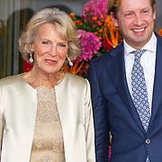 NLD/Amsterdam/20150926 - Afsluiting viering 200 jaar Koninkrijk der Nederlanden, aankomst prinses Irene en prins Floris van Oranje-Nassau, Van Vollenhoven