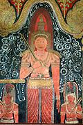 Murals at Kelaniya Temple.