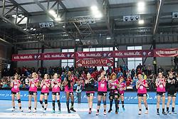 RK Krim Mercator greets the fans after Handball match between RK Krim Mercator vs Vipers Kristiansand in Main Round of EHF Women's Champion League 2018/19, on January 26, 2019 in Kodeljevo, Ljubljana, Slovenia. Photo by Matic Ritonja / Sportida