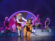 Suzanne Shaw as Red Girl Niki Evans as Orange Girl, in Shout The Mod Musical at Blackpool WInter Gardens.<br />Produced by Peter Frosdick, Shout is running in Blackpool until November 3.<br /><br />Shout is a musical telling the girls' lives through the tales of a gossip magazine agony aunt in the 1960s.
