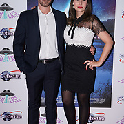 London, England, UK. 14th September 2017.Star Victoire Vecchierini,Actor Eric Geynes attend the Landing Lake Film Premiere at Empire Haymarket,London, UK.