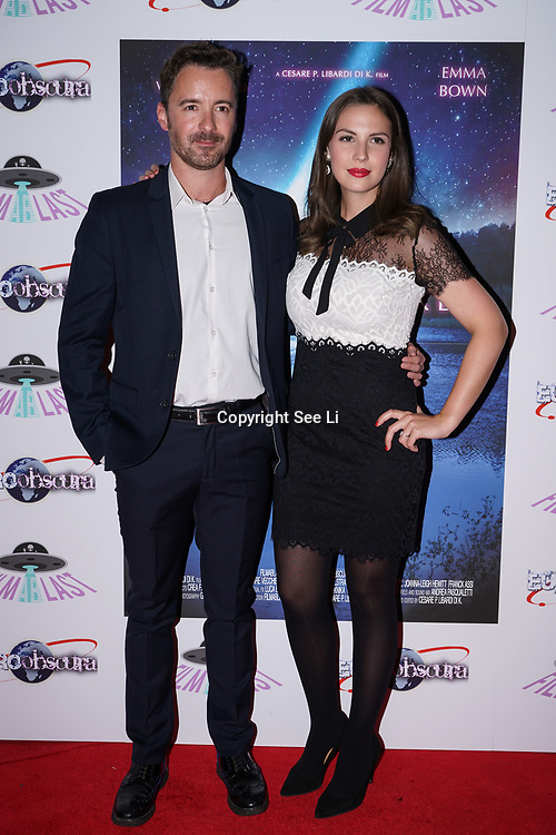 London, England, UK. 14th September 2017.Star Victoire Vecchierini,Actor Eric Geynes attend the Landing Lake Film Premiere at Empire Haymarket,London, UK.