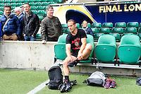 Frederic MICHALAK - 01.05.2015 - Captains' Run de Toulon avant la finale - European Rugby Champions Cup -Twickenham -Londres<br /> Photo : David Winter / Icon Sport
