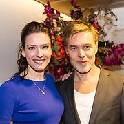 NLD/Amsterdam/20181028 - Premiere Expeditie Eiland, Renée van Wegberg en .......