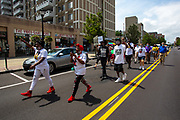 Wilkes-Barre, PA (July 11, 2020) -- People marched with Black Lives Matter NEPA United Movement to Public Square where community leaders and elected officials addressed the crowd.