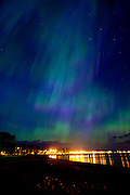 Aurora Borealis Northern Lights in Grand Marais Minnesota