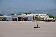 Emergency services at Batumi international airport, Georgia