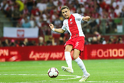 June 10, 2019 - Warsaw, Poland - Jan Bednarek of Poland during the UEFA Euro 2020 qualifier Group G football match Poland against Israel on June 10, 2019 in Warsaw, Poland. (Credit Image: © Foto Olimpik/NurPhoto via ZUMA Press)