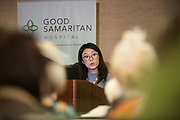Good Samaritan Hospital hosts its Breast Care Symposium at Toll House Hotel in Los Gatos, California, on October 19, 2017. (Stan Olszewski/SOSKIphoto)