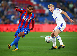 August 22, 2017 - London, England, United Kingdom - Crystal Palace's Jason Puncheon.during Carabao Cup 2nd Round   match between Crystal Palace and Ipswich Town at Selhurst Park Stadium, London,  England on 22 August 2017. (Credit Image: © Kieran Galvin/NurPhoto via ZUMA Press)