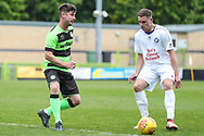 Forest Green Legends Scott Rogers during the Trevor Horsley Memorial Match held at the New Lawn, Forest Green, United Kingdom on 19 May 2019.