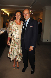 MASSIMO & SARA CARELLO at the Sotheby's Summer Party 2007 at their showrooms in New Bond Street, London on 4th June 2007.<br /><br />NON EXCLUSIVE - WORLD RIGHTS