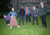 Gráinne Maguire,Giants,Michael Odewale,Olga Koch and Phil Wang   live at the picnic at the castle,Warwick Castle photo by Brian Jordan