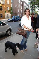 The HON.SELINA TOLLEMACHE and her dog Merlin at the launch of The Rupert Lund Showroom, 61 Chelsea Manor Street, London SW3 on 2nd May 2007.<br /><br />NON EXCLUSIVE - WORLD RIGHTS