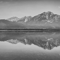 Pyramid Lake held me in a trance on a very early July morning in Jasper National Park, Canada.