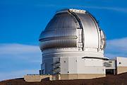 Observatory on the summit on Mauna Kea, The Big Island, Hawaii USA