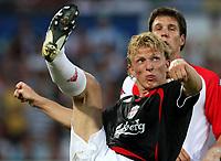 Photo: Maarten Straetemans.<br /> Feyenoord v Liverpool. Rotterdam Tournament. 05/08/2007.<br /> Dirk Kuyt of Liverpool