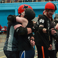 Furious Engine take on Dead Cats at the MRD Sevens Tournament, Salford University Sports Centre, 2018-03-04