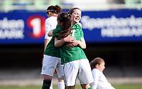 Fotball , Second Qualifying Round<br /> UEFA WU 17 <br /> Briskeby Hamar , Norway<br /> 24.03.12<br /> Poland  v  Republic of Ireland  0-1<br /> Foto: Dagfinn Limoseth, Digitalsport<br /> <br /> Ciara O`Connell  , Amy O`Connor , Republic of Ireland