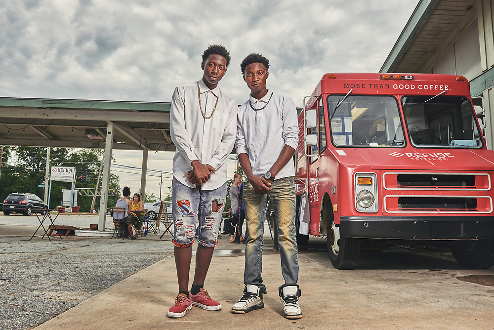 Brothers Samuel and Bernard escaped separately The Republic of Congo and were reunited in Clarkston, GA after traveling from refugee camps in Germany and then to the United States.Part of a documentary series on Clarkston, GA.  The most ethnically diverse square mile in America, there are over 70 nationalities that have sought refuge there since the 1980s.