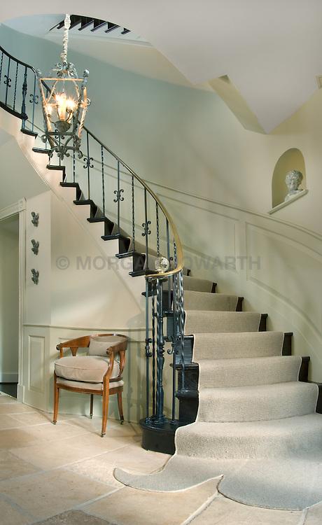 5165 Rockwood Parkway, NW Washington, DC Michele Seiver interior designer Stair stairway