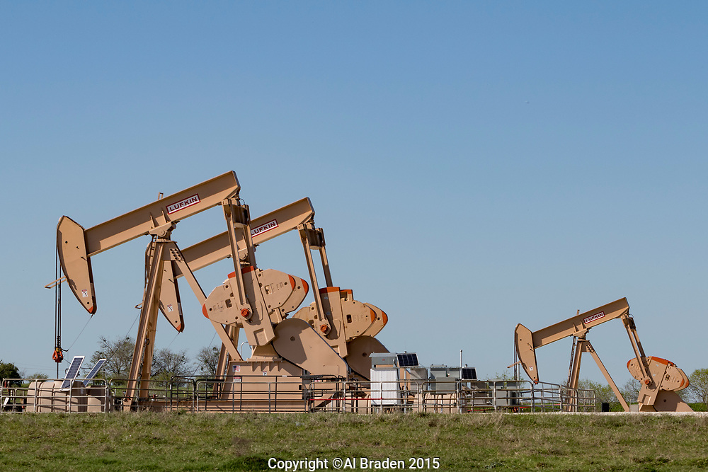 Oil and Gas Fracking, Eagle Ford Shale Area, Texas