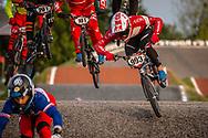 #993 (NAGASAKO Yoshitaku) JPN [Wiawis, Kabuto, Avian] at Round 8 of the 2019 UCI BMX Supercross World Cup in Rock Hill, USA
