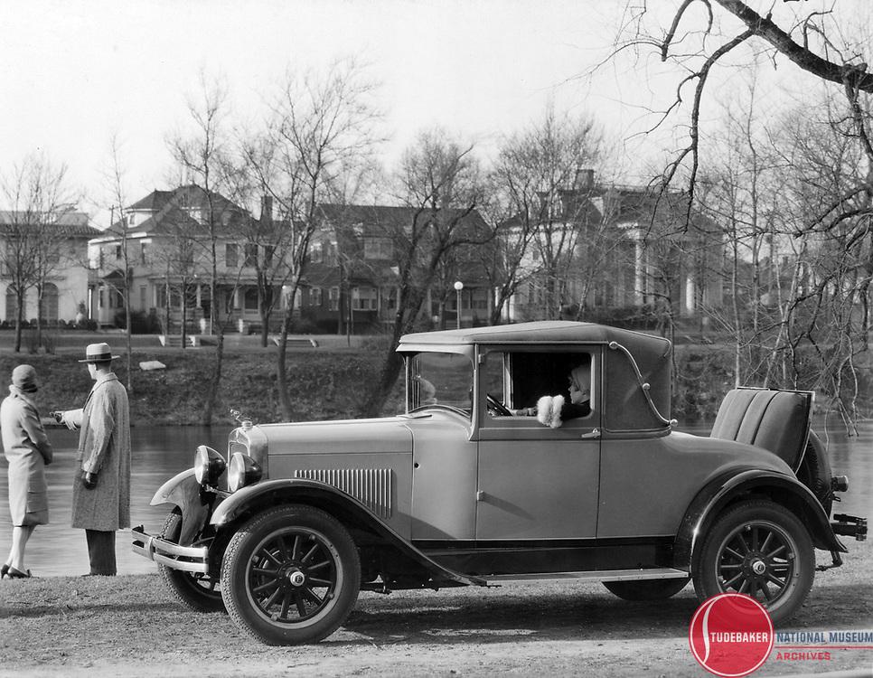 1928 Erskine Landau at South Bend, Indiana's Leeper Park.