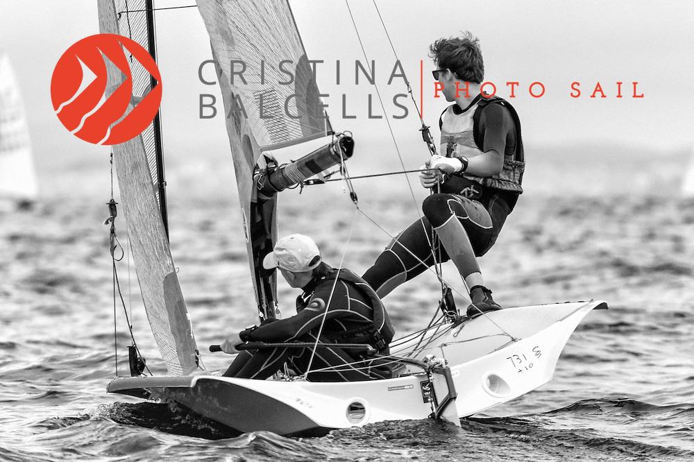 GUÍXOLS CUP –XXVII Trofeu J.A.Samaranch<br /> Club Nàutic Sant Feliu de Guíxols_Girona_Spain<br /> Regata de Nivell 2 del 11 i 12 de febrero del 2017-02-27<br /> 29er Class. RFEV & FCV<br /> Photos: © Cristina Balcells