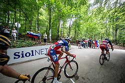 Aljaz JARC of ADRIA MOBIL during 3rd Stage of 27th Tour of Slovenia 2021 cycling race between Brezice and Krsko (165,8 km), on June 11, 2021 in Slovenia. Photo by Vid Ponikvar / Sportida