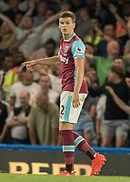 Football - 2016/2017 Premier League - Chelsea V West Ham United. <br /> <br /> Sam Byram of West Ham at Stamford Bridge.<br /> <br /> COLORSPORT/DANIEL BEARHAM