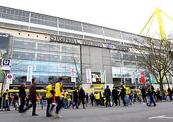 Signal Iduna Park, home of Borussia Dortmund  - Mandatory by-line: Robbie Stephenson/JMP - 07/04/2016 - FOOTBALL - Signal Iduna Park - Dortmund,  - Borussia Dortmund v Liverpool - UEFA Europa League Quarter Finals First Leg
