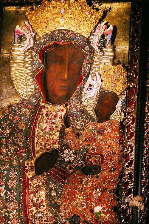 Czestochowa, Poland. Jasna Gora Monastery (Black Madonna).