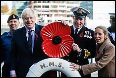 Oct 30 2012- Boris Johnson Launches Poppy Appeal