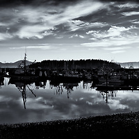 Neah Bay Sunrise<br />edited 02/20/17<br /> converted to B&W 02/21/17<br /> printed 3/02/17