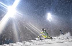 08.01.2019, Hermann Maier Weltcupstrecke, Flachau, AUT, FIS Weltcup Ski Alpin, Slalom, Damen, 1. Lauf, im Bild Marusa Ferk (SLO) // Marusa Ferk of Slovenia in action during her 1st run of ladie's Slalom of FIS ski alpine world cup at the Hermann Maier Weltcupstrecke in Flachau, Austria on 2019/01/08. EXPA Pictures © 2019, PhotoCredit: EXPA/ Johann Groder