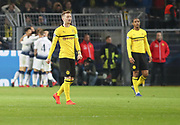 Marco Reus of Borussia Dortmund disappointed during the Champions League round of 16, leg 2 of 2 match between Borussia Dortmund and Tottenham Hotspur at Signal Iduna Park, Dortmund, Germany on 5 March 2019.