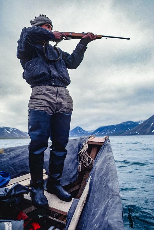 Volodia Selyakin, Yupik hunter from the Village of New Chaplino, Senyavina Strait, NE Russia